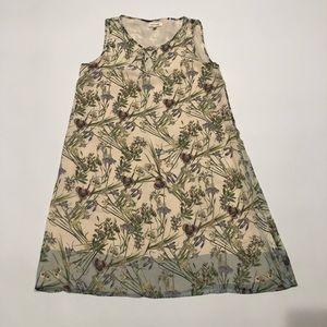🎂 Max Studio floral printed dress XS